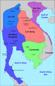 North Asia Map by Lan Xang Wikipedia