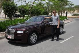 cartoon rolls royce jenson button to drive with rolls royce during 2014 joel