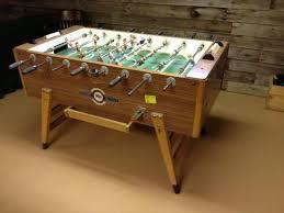 vintage foosball table for sale do bid com
