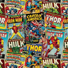 comic wrapping paper character wrapping paper marvel 3m gift wrap b m