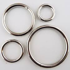 buy metal rings images 20 25 38 50mm welded solid heavy metal o rings silver chrome JPG