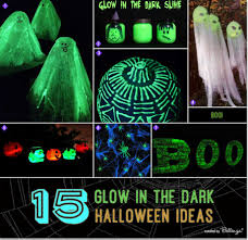 homemade halloween decorations for party diy glow in the dark halloween decorations