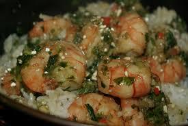 fan de cuisine poêlée de crevettes façon neue balade gourmande de cécile