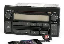 toyota camry 2005 2006 radio am fm cd player w aux input 86120