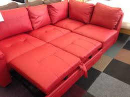 Red Corner Sofa by 7 Best Fernando Leather Right Hand Sofabed Corner Group Red