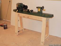 Wood Lathe Projects For Free by To Make A Lathe Stand