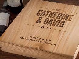 5th wedding anniversary ideas 5th wedding anniversary gift ideas for him make me something