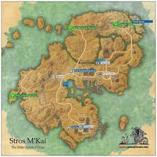 Elder Scrolls Map Stros M U0027kai Daggerfall Covenant The Elder Scrolls Online Game