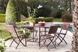 Folding Patio Dining Table Cosco Outdoor Products Cosco Outdoor Living Transitional 7 Piece