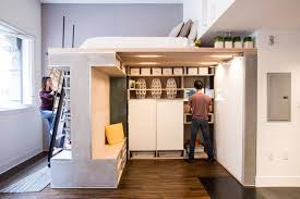 Making The Most Of Small Spaces A Small Condo Gets A Multifunctional Loft Design Milk