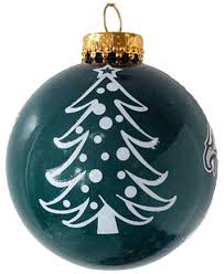 memory company philadelphia eagles glass tree ornament