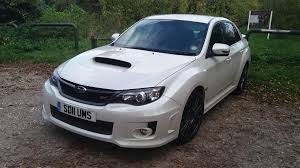 subaru wrx sti 2011 used 2011 subaru impreza sti type uk for sale in cheshire