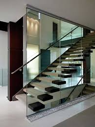 Glass Banisters For Stairs Glass Railings Glass U0026 Mirror Designs Corp