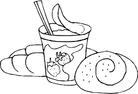 Food Coloring Pages Children S Best Activities Coloring Pages Bread