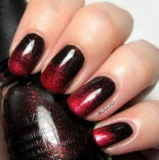 best 25 black ombre nails ideas on pinterest dark nail designs