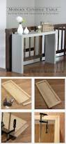 Diy Console Table Plans Easy Diy Console Table Plans X U2013 Launchwith Me