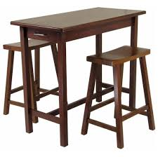 kitchen cheap solid wood kitchen island table with 2 stools how