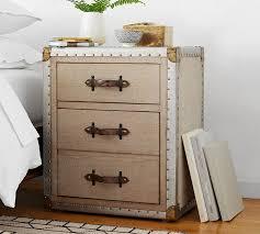 trunk style bedside tables zimmer bedside table furniture storage pinterest furniture