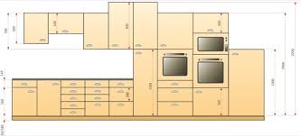 hauteur meuble bas cuisine hauteur meuble de cuisine cuisine en image