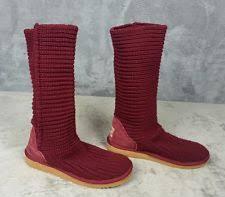 s ugg australia elsa boots ugg australia s knee high slip on casual boots ebay