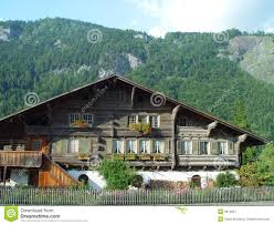 swiss chalet house plans swiss chalet royalty free stock photography image 3615627