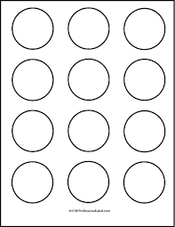 1 Inch Circle Template by 10 Best Images Of 2 Inch Labels Template 2 Circle Label