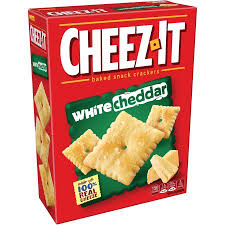 personalized cracker boxes cheez it white cheddar baked snack crackers 12 4 oz box walmart