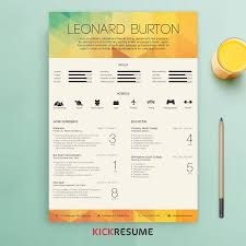 Creative Resume Designs Beautiful Minimalistic And Infographic Resume Design By Www