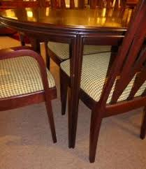 1940s Dining Room Furniture Paul T Frankl Johnson Furniture Mahogany Dining Table With Six