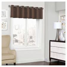 Chocolate Brown Valances For Windows Brown Valances Target
