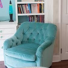 velvet chair and ottoman turquoise velvet ottoman design ideas