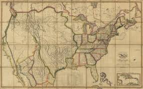 Us Map Of The United States by Historical Maps Of The United States And North America Vivid Maps