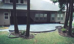 image detail for patio slab ideas concrete also on a budget