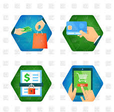 buy clipart secure payment and shopping icons safe purchase royalty
