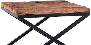 outdoor wood coffee table outdoor wood side table reclaimed industrial cut out target small