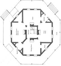 six bedroom octagon house plan nice home zone