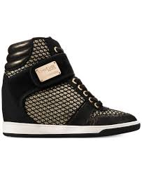 bebe calisto high top trainers in black lyst