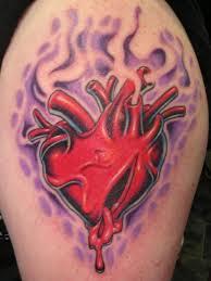 collection of 25 broken heart tattoo