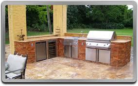 Outdoor Bbq Kitchen Designs Outdoor Kitchen Bbqs Impressive With Kitchen Home Design
