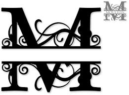 initial fonts for monogram monogram letters clipart 2218412