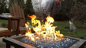 How To Build A Propane Fire Pit Home Made Propane Fire Pit Youtube