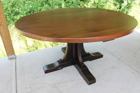 Pedestal Coffee Table Round Custom Pedestal For Round Table Ecustomfinishes