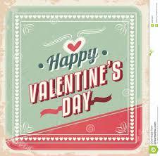 retro valentines retro valentines day card vector stock image image 28629381