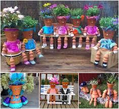 Flower Planter Ideas by Best 25 Pots U0026 Planters Ideas On Pinterest Fairy Garden Pots