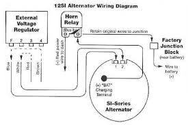 how to convert from oem external alternator to internal si