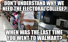 Walmart Memes - as individuals americans are smart as a group we are retarded