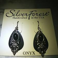 silver forest earrings 50 silver forest jewelry onyx silver forest earrings from
