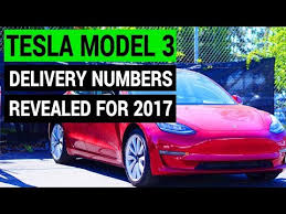 tesla model 3 q4 deliveries u0026 production rate youtube