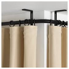 Round Shower Curtain Rod For Corner Shower Curtains Ceiling Mounted Bay Window Curtain Rod 144 Inch Curtain
