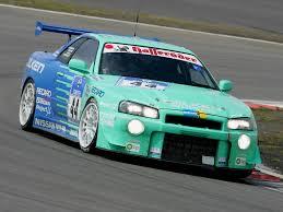 nissan gtr drag car nissan skyline gt r jgtc race car bnr34 u00271999 u20132003